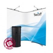 Flexi promo stěna TWIST 2 x 100 x 200