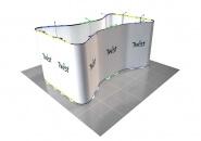 Výstavní stánek Telč 5x5 m