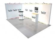 Výstavní stánek Písek 5x3 m