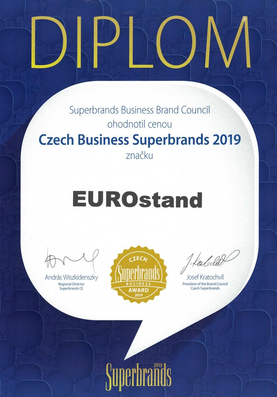 Ocenění Business Superbrands 2019